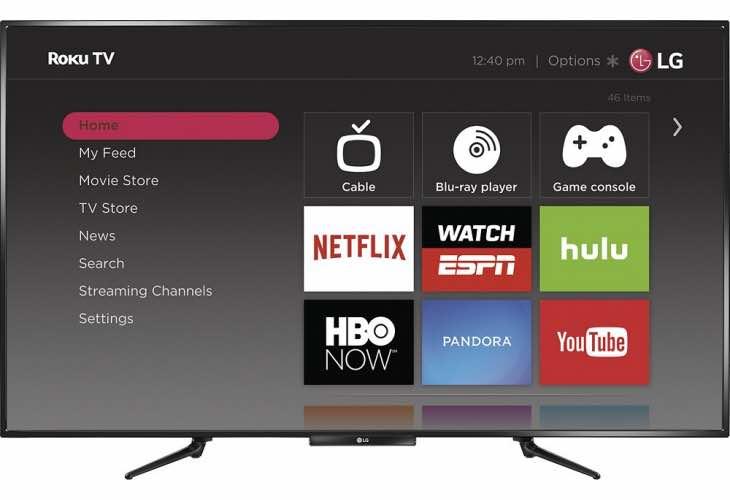 LG 55LF5700 55-inch Roku TV reviews