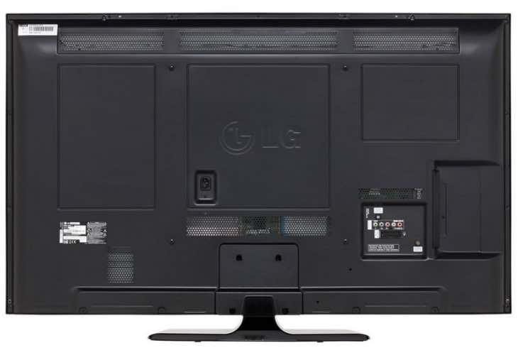LG 60PB5600 rear
