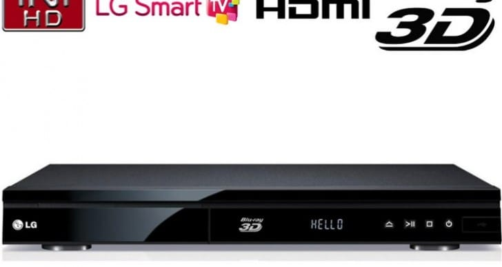 LG BP135 Blu-ray player makes movies special