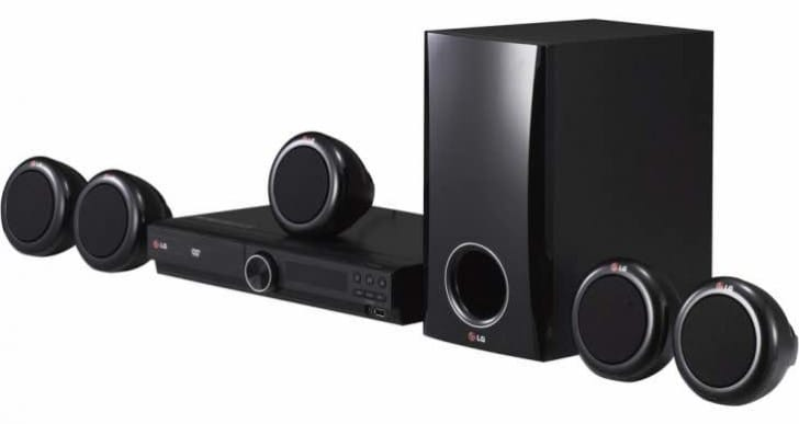 LG DH3140S DVD Home Cinema System specs includes 5.1