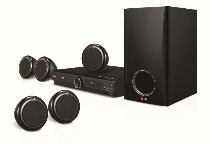 LG DH3140S DVD Home Cinema System specs