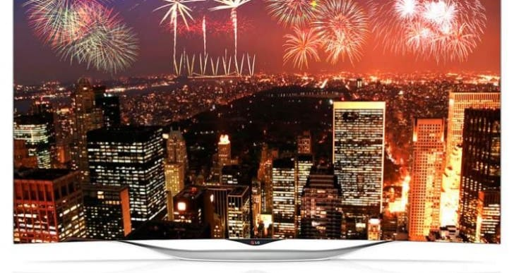 LG EC930T OLED Curved TV features webOS