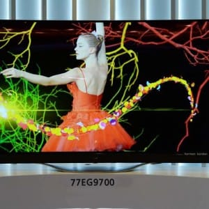 LG EG9700 Series 4K OLED TV price for early adopters