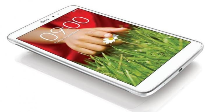 LG G Pad 8.3 UK price gets official