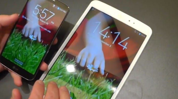LG G Pad 8.3 Android tablet hands-on