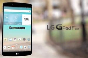 New LG G Pad F 8.0 with AT&T price plans