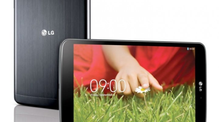LG G Pad features in focus, meet Q-Pair