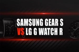 Samsung Gear S vs. LG G Watch R with advantages