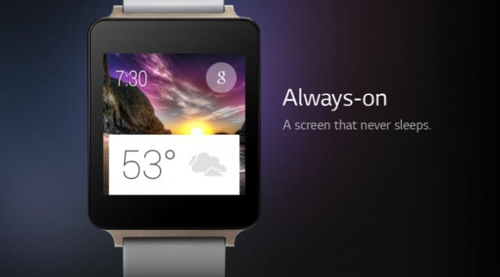 LG G Watch faces, apps and cards spotted
