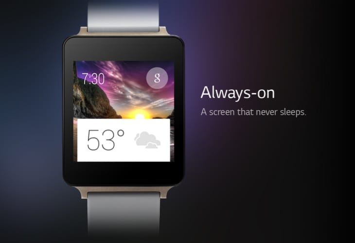 LG G Watch faces and apps spotted