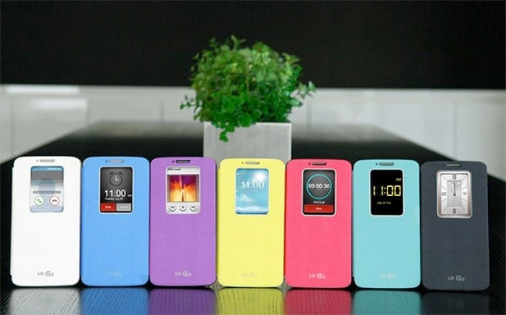 LG G2 cases exposed, imitates Galaxy S4 cover