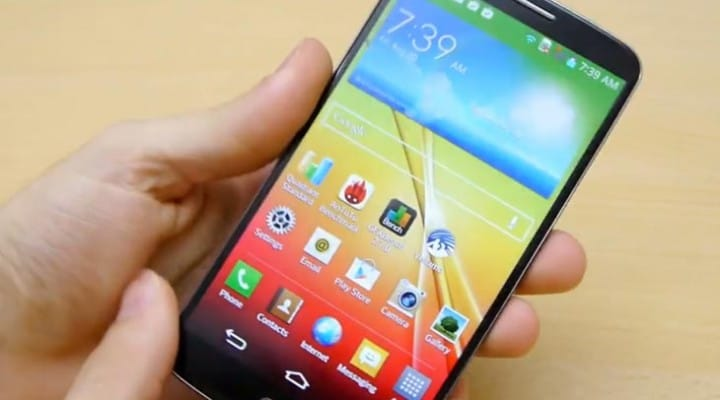 LG G2 gets benchmark, unboxing and video test
