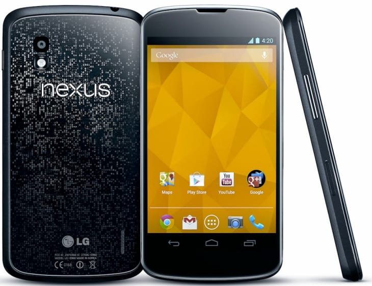 LG G2 vs. Nexus 4 specs in a nutshell 2