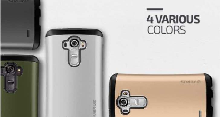 LG G4 Verus Thor vs. Spigen Rugged Armor case
