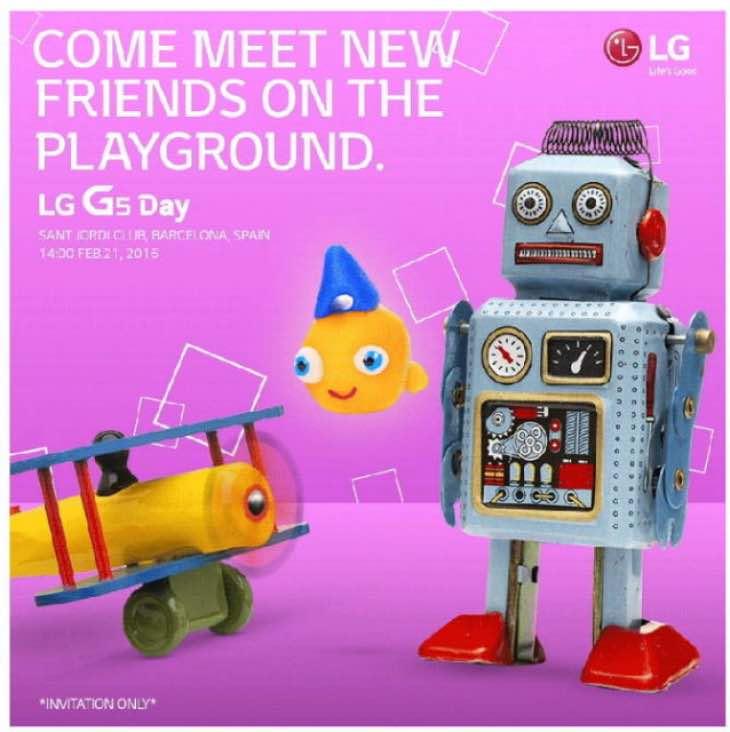 LG G5 OLED screen
