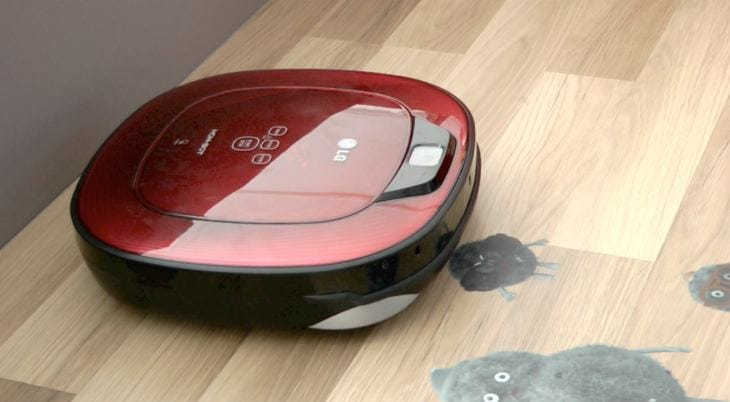 LG HOM BOT Square vs. Roomba