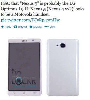 LG Nexus 5 vs. Motorola continues 2