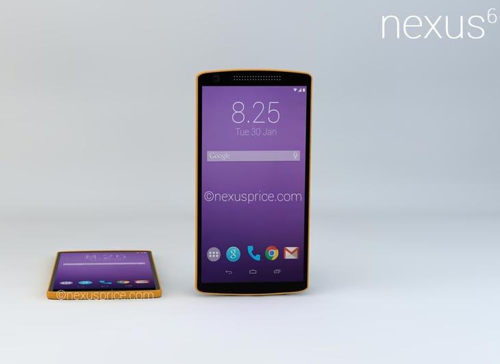 Nexus 6 sẽ được công bố vào tháng 7