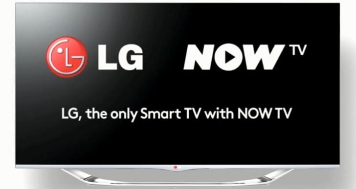LG Now TV app for contract-free Sky