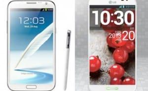 LG Optimus G Pro vs. Galaxy Note 3, fairer than Note 2 comparison
