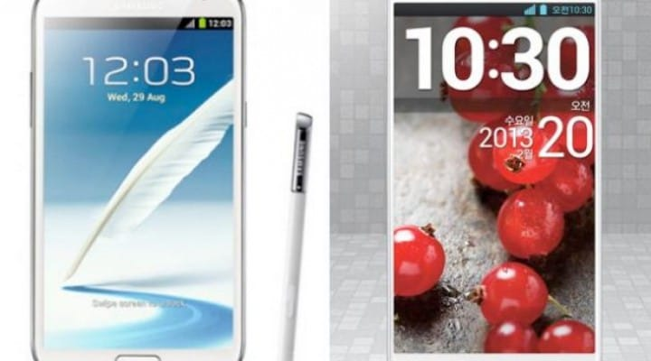 LG Optimus G Pro vs. Galaxy Note 3, fairer than Note 2 comparison