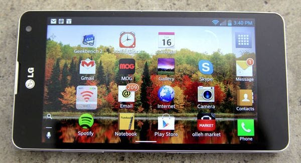 LG Optimus G starts global release
