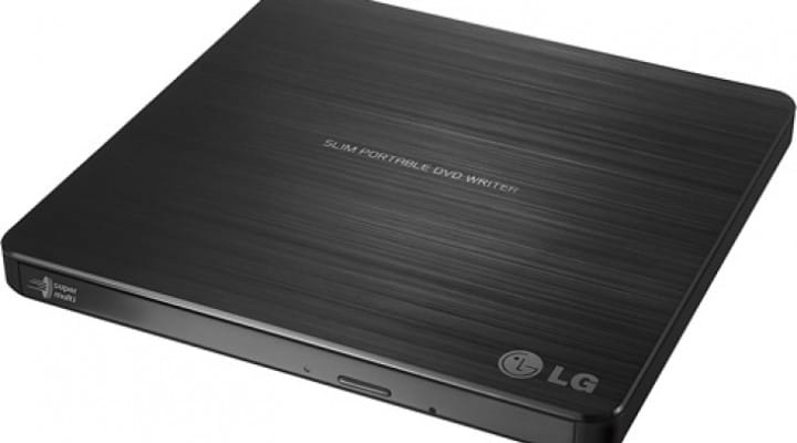 LG SP60NB50 8x External Double-Layer DVD Drive