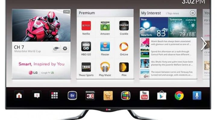 LG has best LCD TV range from various products