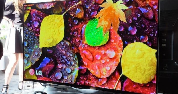 LG curved OLED TV slashed half price, no 4K
