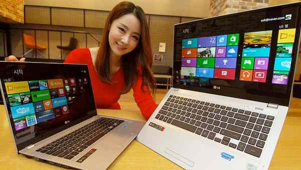 LG U560 ultrabook, Macbook clone with Windows 8