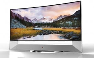 "LG & Samsung to release curved 105"" Ultra-HD TVs, sales war"