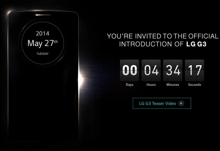 LG event start time, live stream and blog roundup