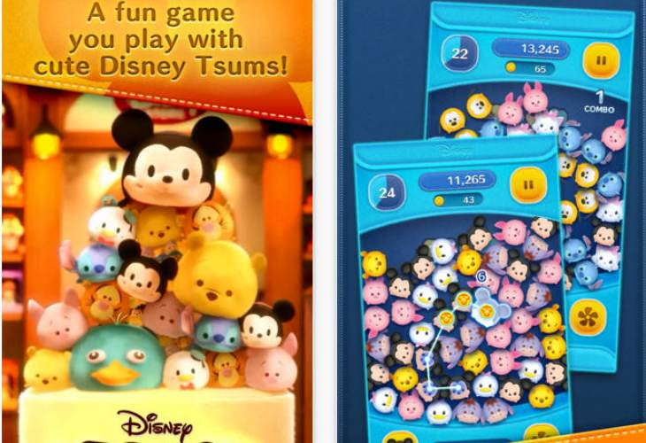 LINE- Disney Tsum Tsum iPhone and Android released