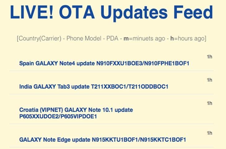 LIVE-OTA-Updates-Feed