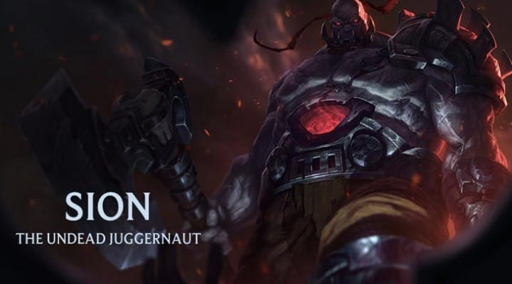 LOL Sion rework news after 4.17 update notes