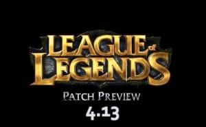 LOL patch 4.13 preview with unique humor