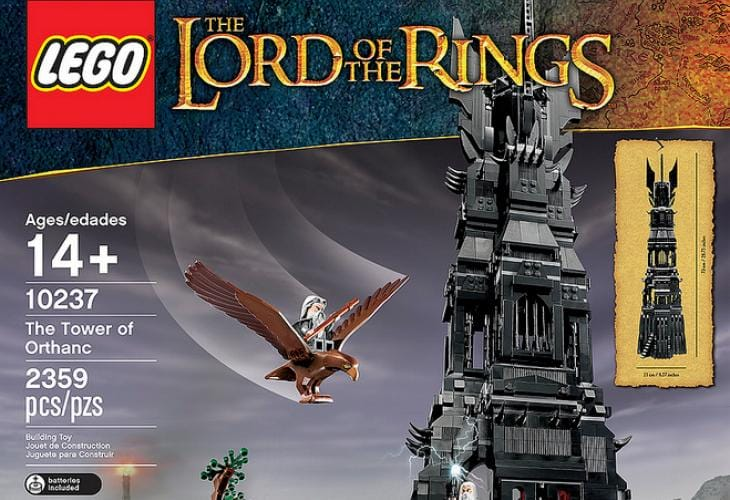 LOTR LEGO- The Tower of Orthanc