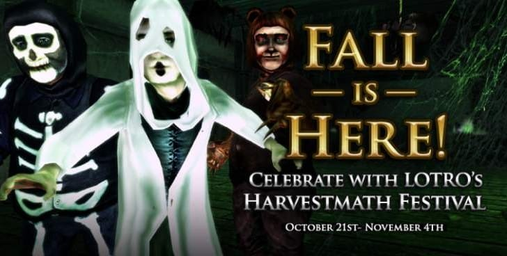 LOTRO harvest festival event with 2014 quests