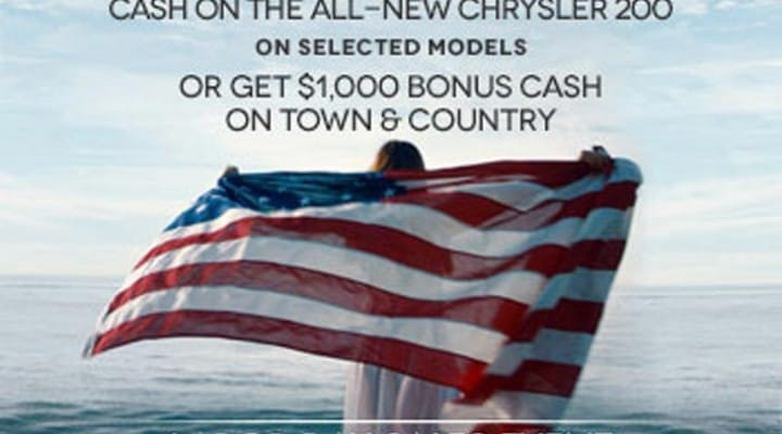 Chrysler lead Labor Day car sale with Toyota, Chevy