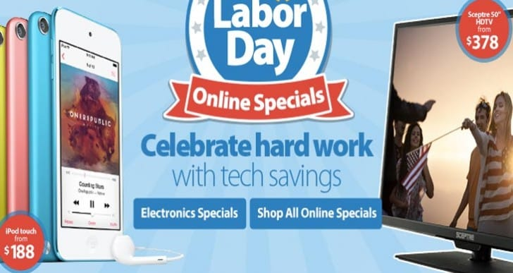 Labor Day opening hours at Best Buy, Walmart