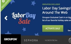 PS4 and Xbox One in Labor Day sale at Groupon