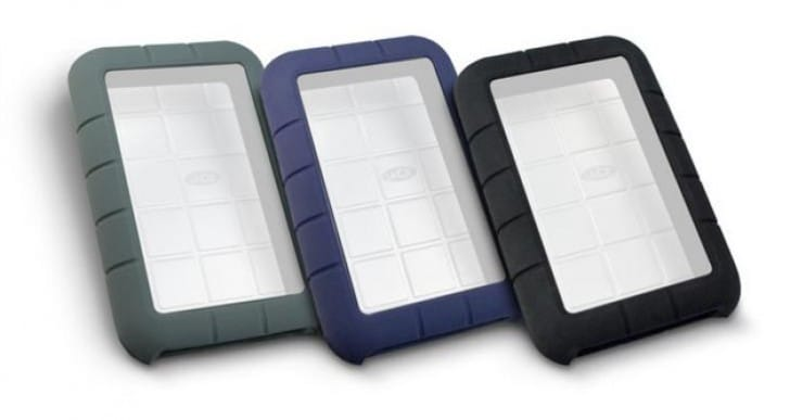 LaCie Rugged hard drive cases