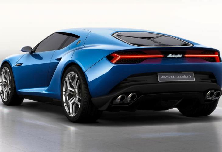 Lamborghini Asterion powertrain