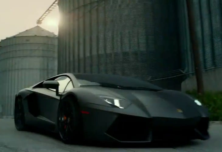 Lamborghini Aventador joins Transformers 4 car lineup