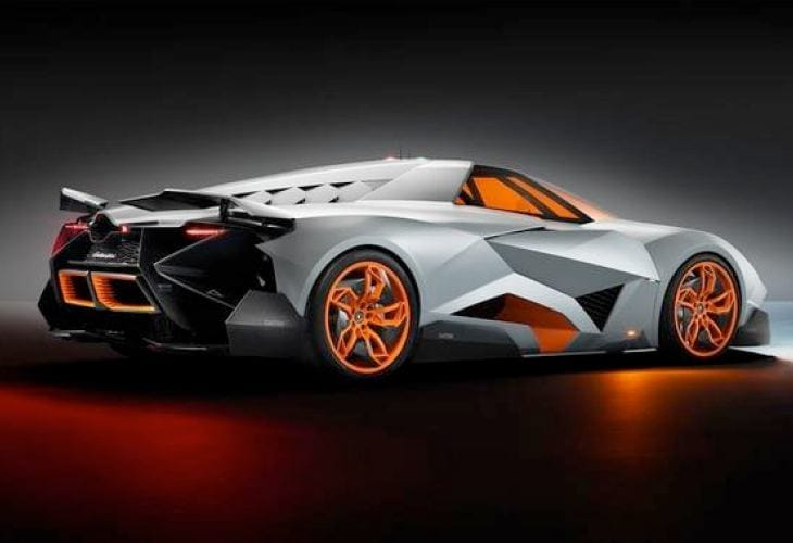 Lamborghini Egoista- From concept to production