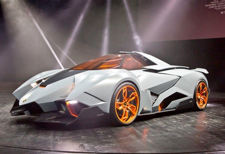 Lamborghini Egoista concept test drive demand