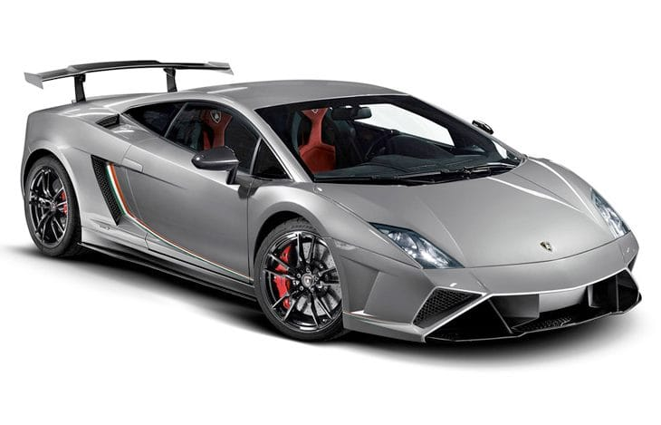 Lamborghini Gallardo Squadra Corse price and limitations