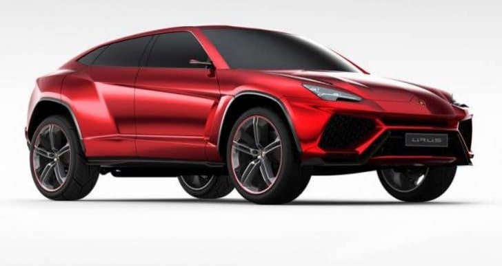 Lamborghini Urus SUV engine confirmed, specs to come