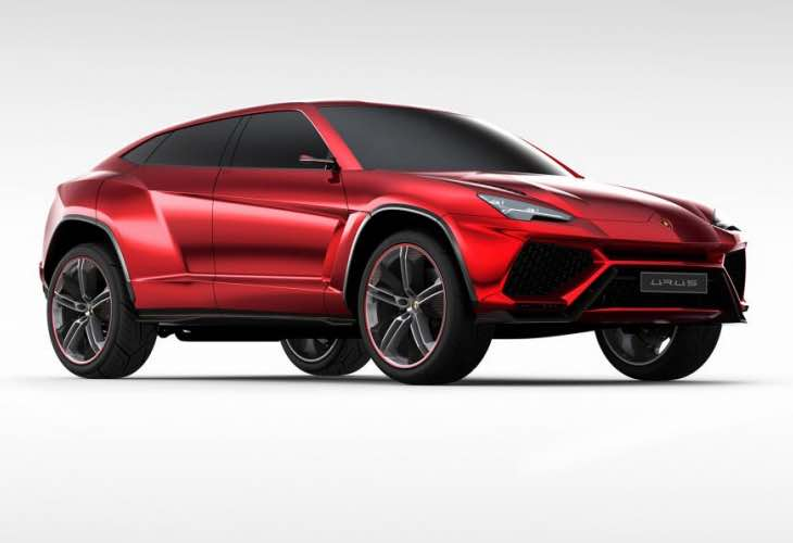 Lamborghini Urus SUV engine confirmed
