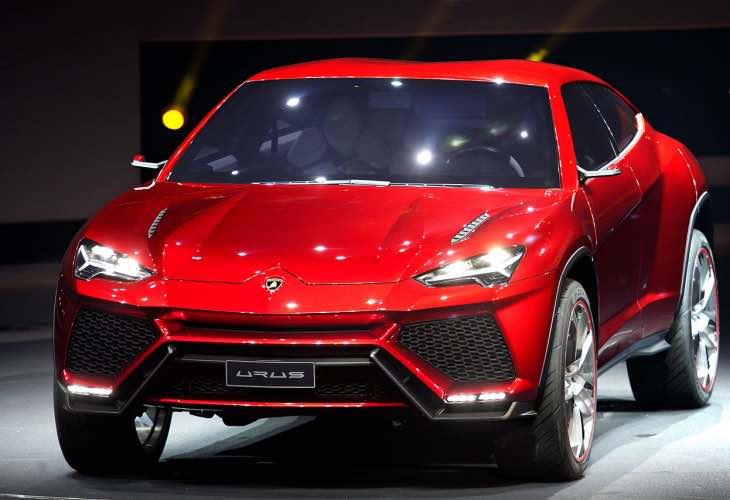 Lamborghini Urus SUV hybrid